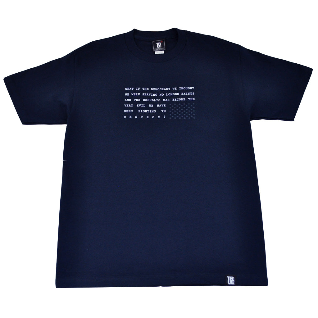 Mens True What If T-Shirt Navy