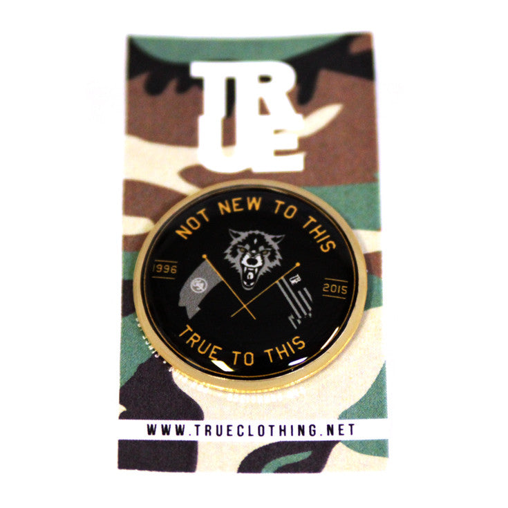 True Wolves Lapel Pin