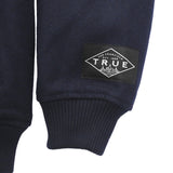 True Mens Established Varsity Jacket Navy
