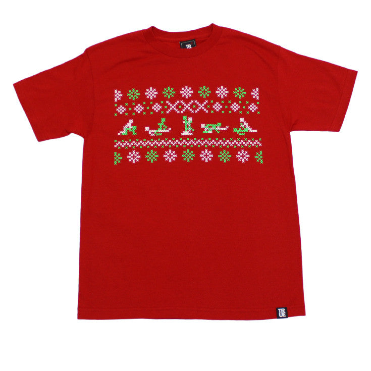 Mens True XXX-Mas T-Shirt Red - Shop True Clothing