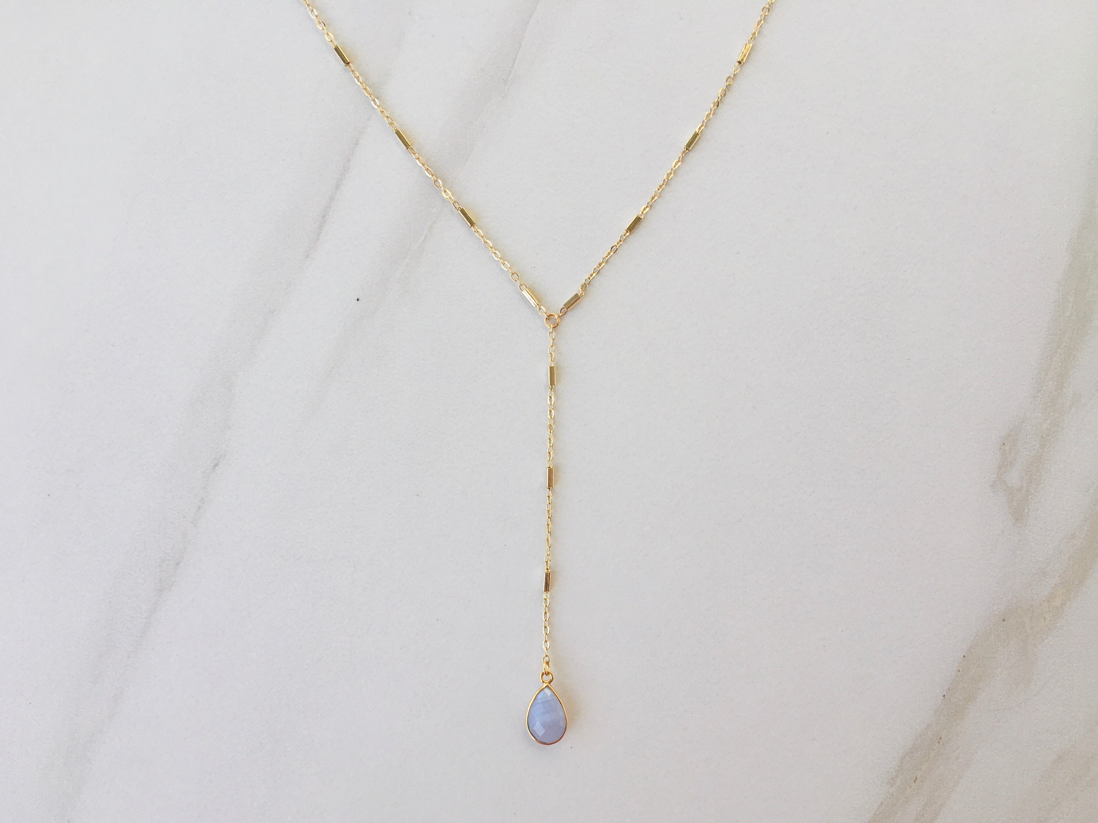 Marina Del Rey Lariat Necklace