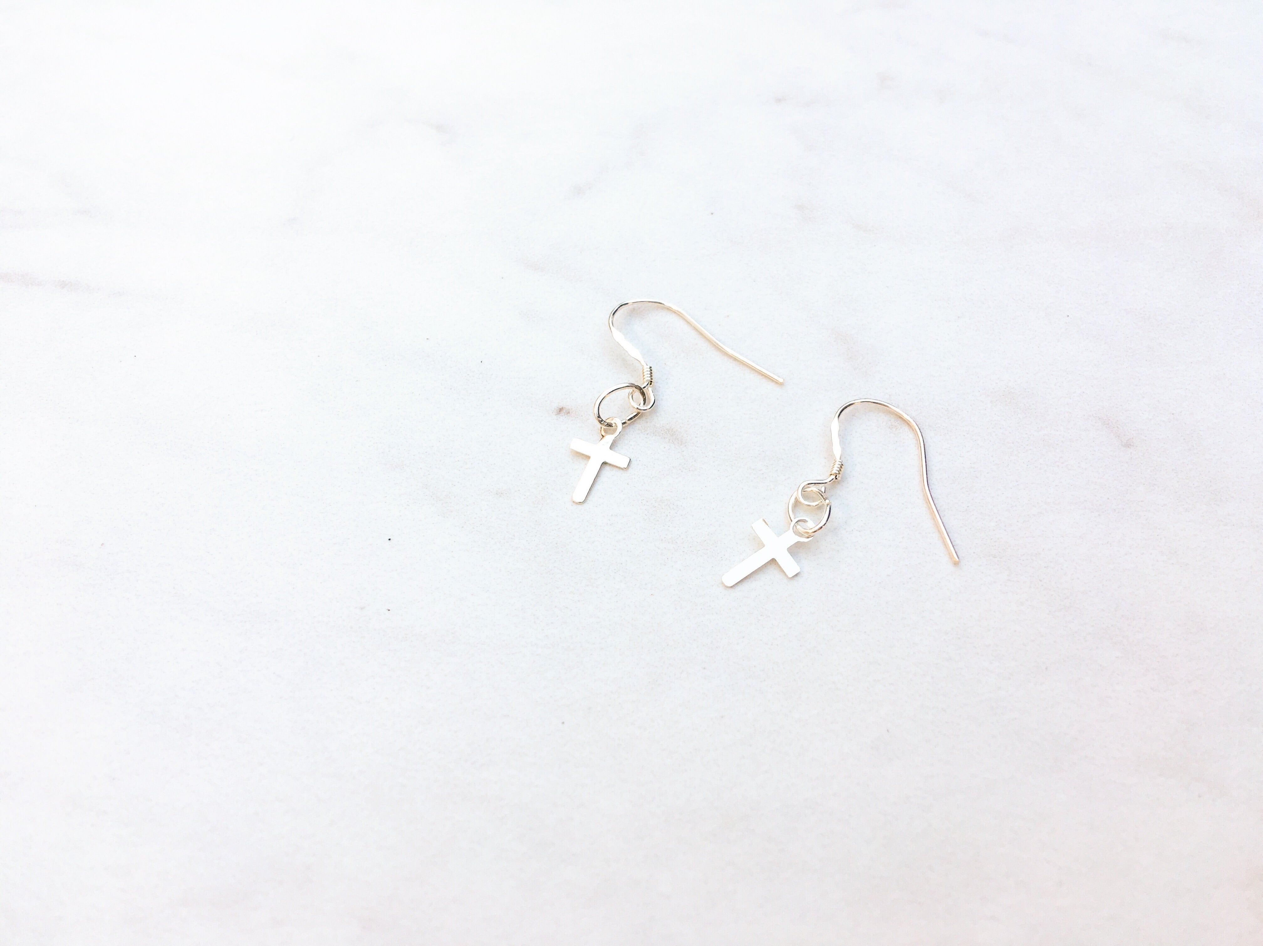 Baby Cross Earrings