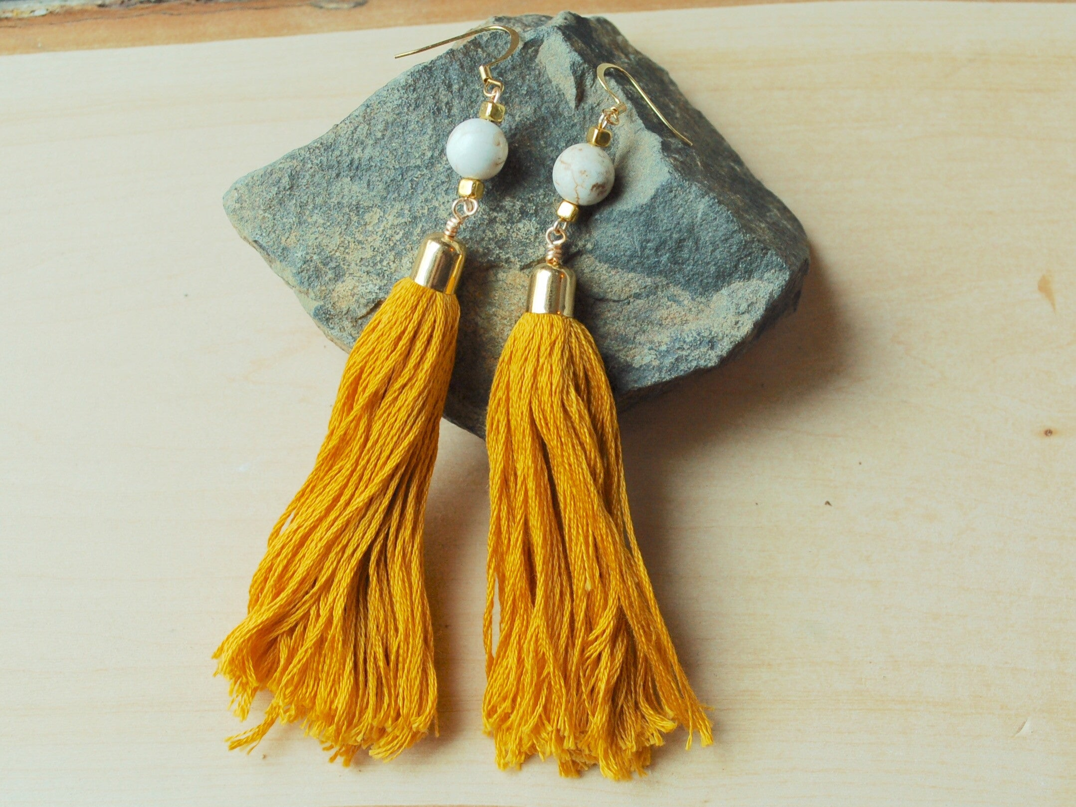 Theresa Tassel Earrings