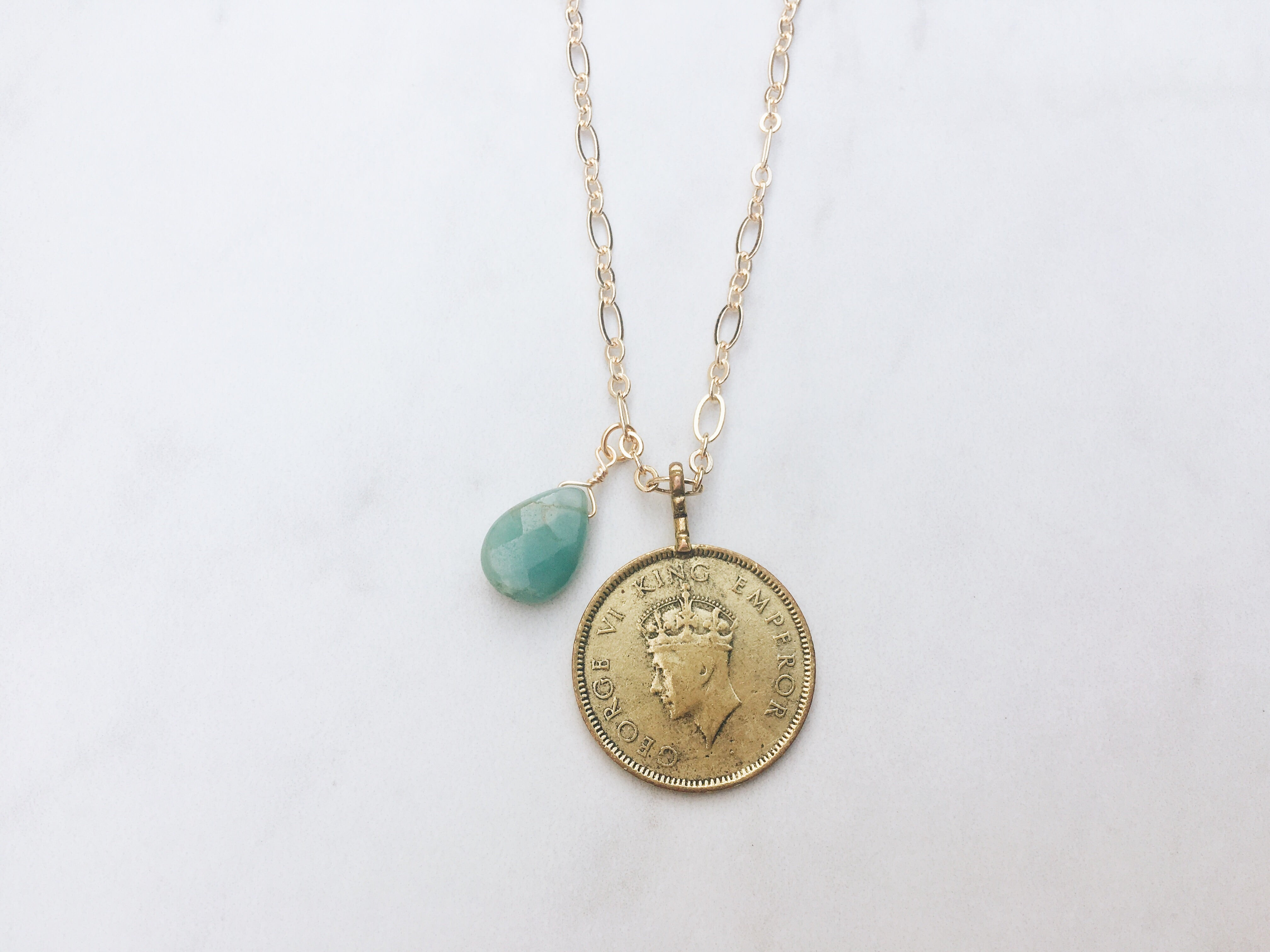 Calypso Coin Necklace