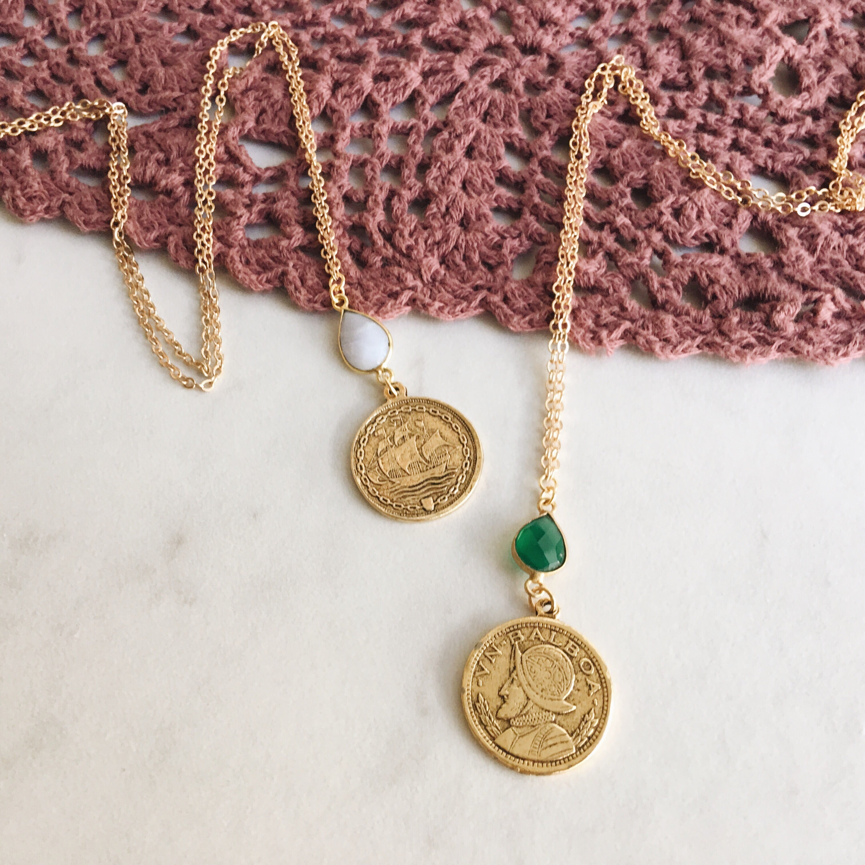 Balboa Coin Necklace
