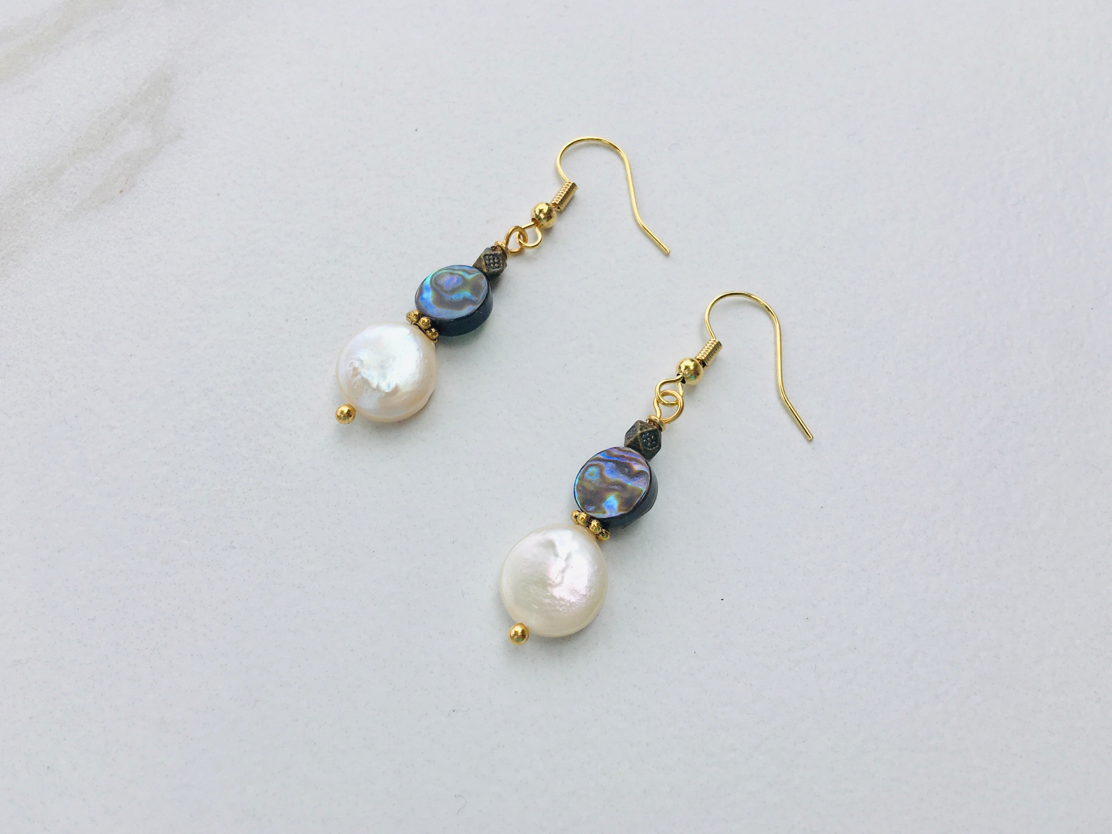 Simple Seashore Earrings