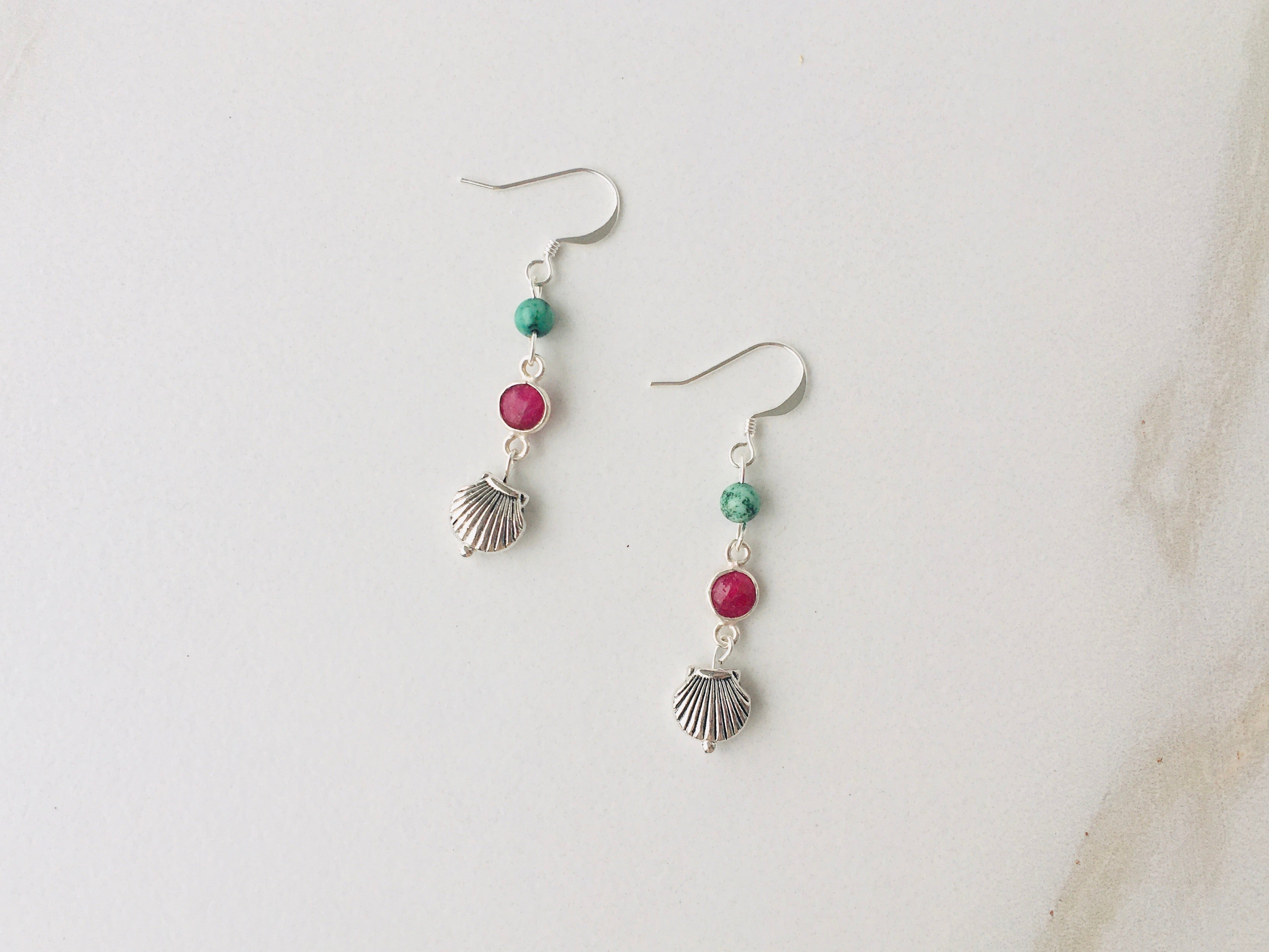 Belmar Ruby Earrings