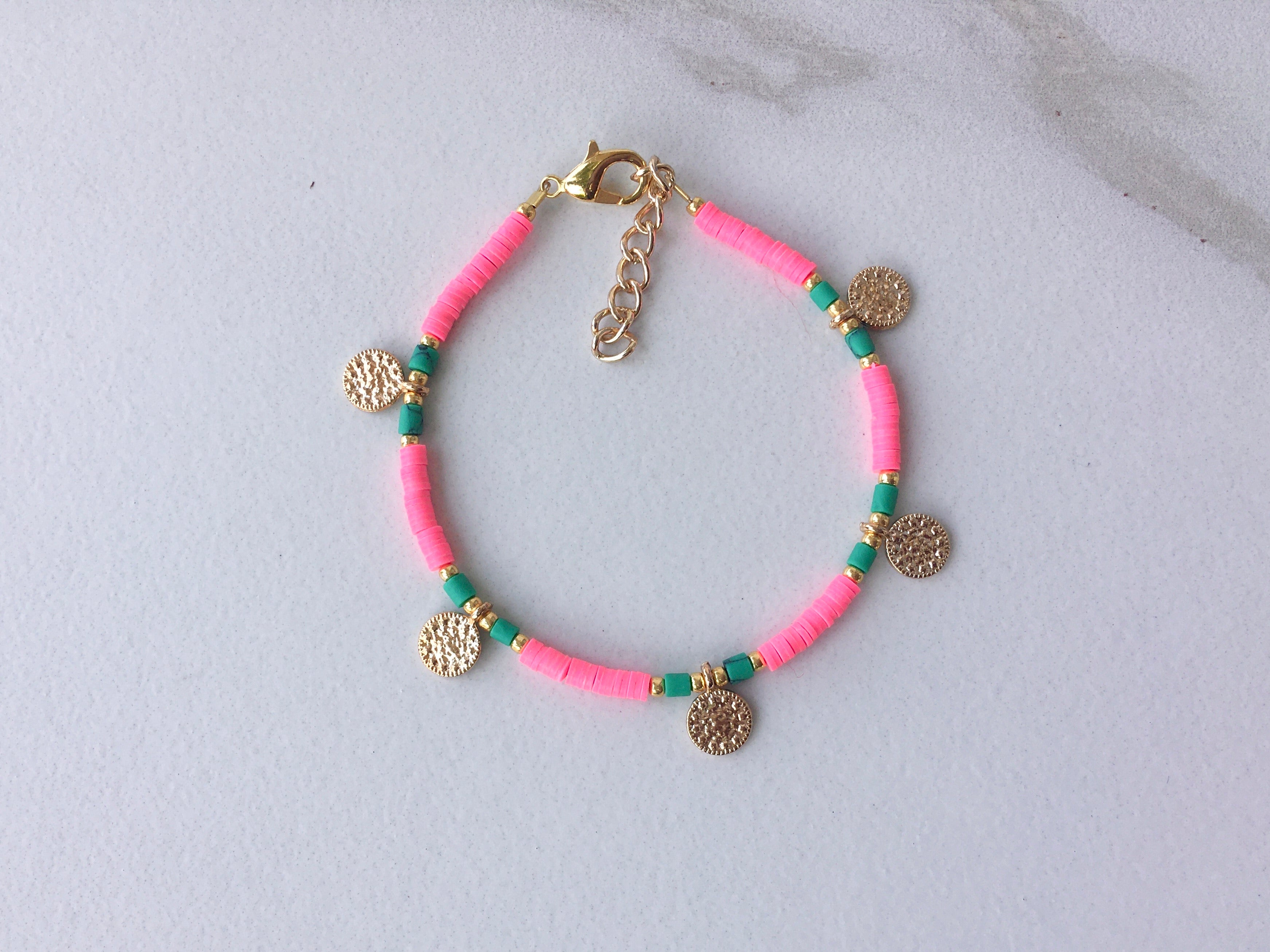 Key Largo Coin Bracelet