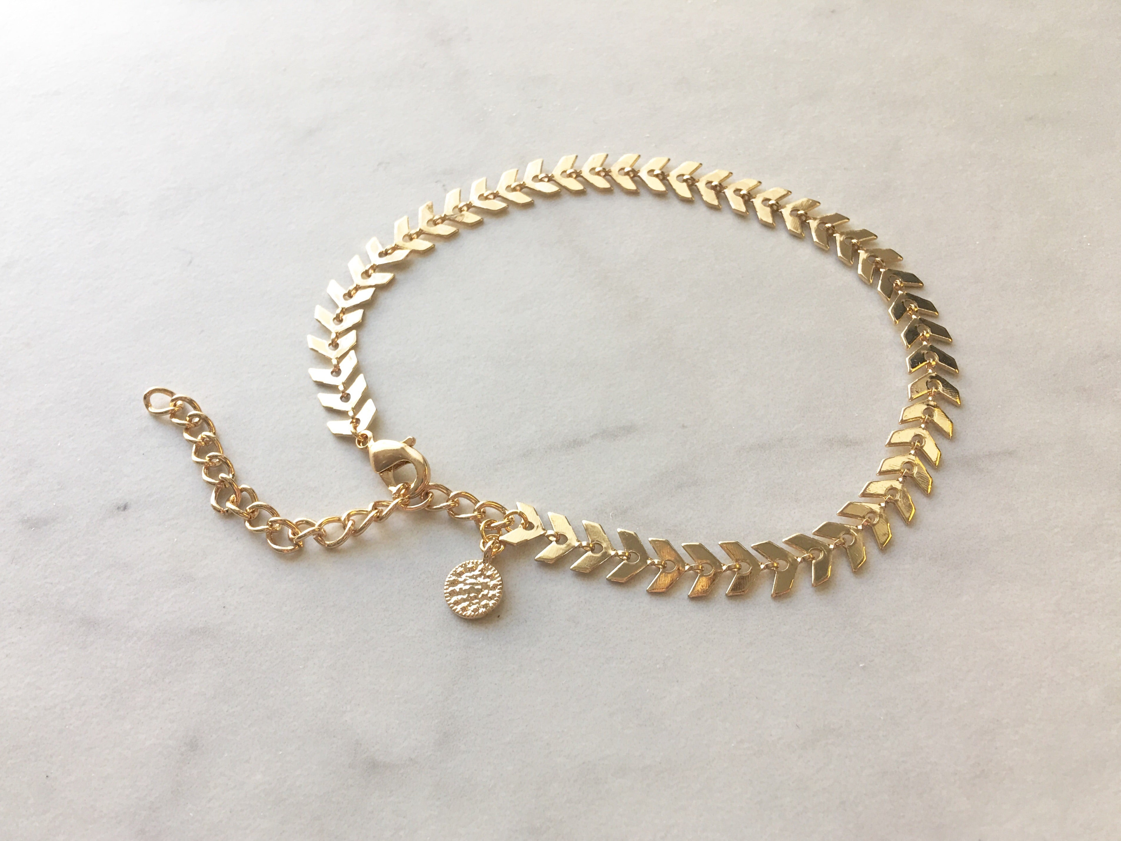Gold Gypsy Anklet