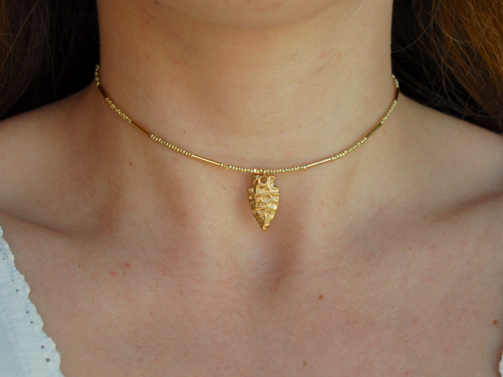 Golden Nomad Choker