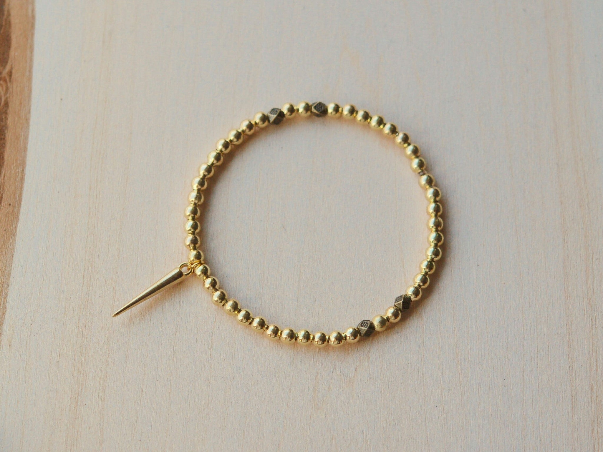 Golden Spike Bracelet