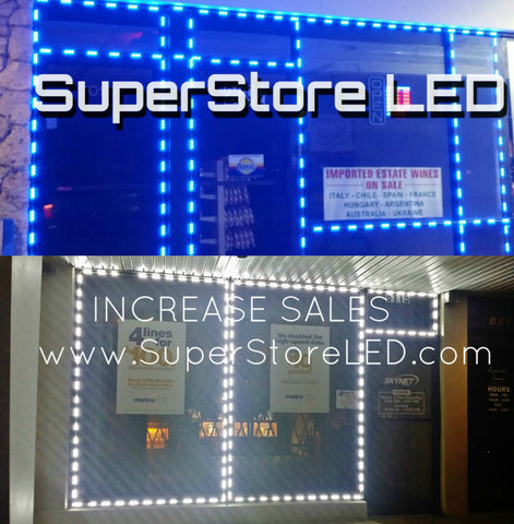 Cellphone store LED lighting, Storefront LED
