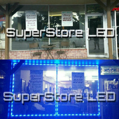 Hair Salon Storefront LED