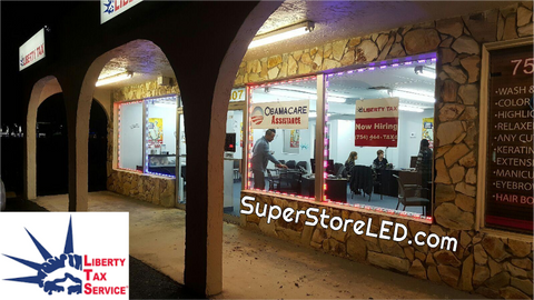 Liberty Tax - Storefront LED