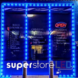 Bright Single Color Storefront LED from | Lengths 5 ft - 100 ft
