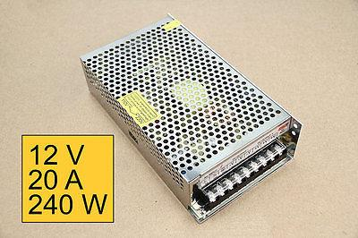 12V 20 AMP 240 Watts - Box POWER SUPPLY