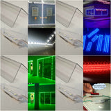 Single Color Storefront LED + Mounting Tracks for easy installation