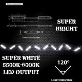 20 LED PODS Chevy/GMC Truck Bed LED Kit -12V System