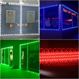 Storefront LED White, Blue, Green, Red, Pink for business storefront