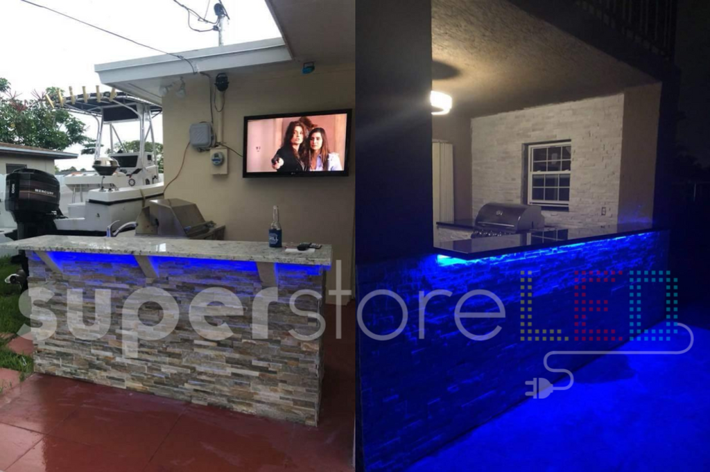Superstoreled Under Countertop Led Lighting For Outdoor Kitchen