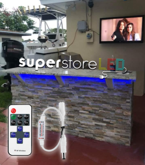 SuperStoreLED Under-Countertop LED Lighting for Outdoor Kitchen & Grill