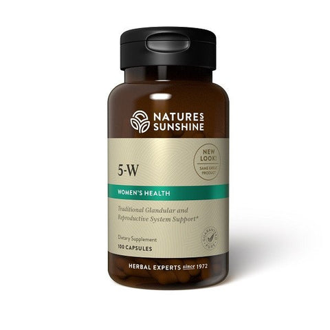 Natures Sunshine 5-W Pregnancy Capsules