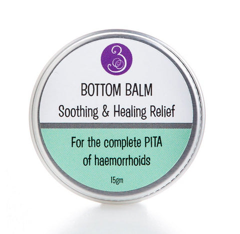 Bottom Balm Haemorrhoid Balm Tin 15gm Safe in pregnancy