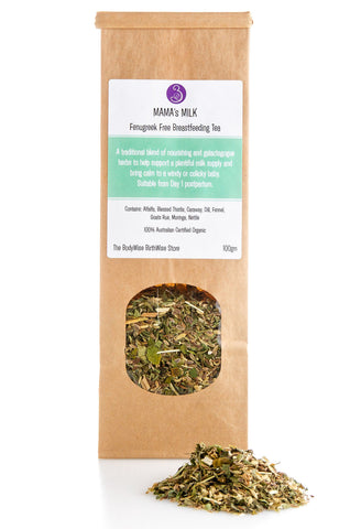 Mama's Milk (Fenugreek Free) Breastfeeding Herbal Tea