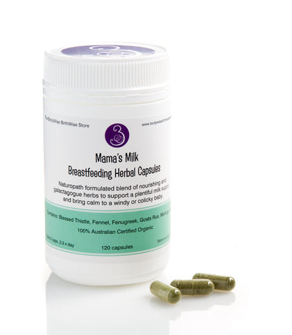 Mama's Milk - Breastfeeding Herbal Capsules