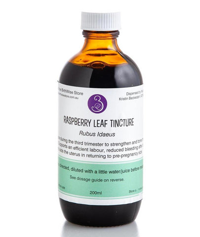 Raspberry Leaf - Pregnancy Herbal Tincture