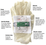 Donation at Checkout for a Clean Birth Kit - Kit International