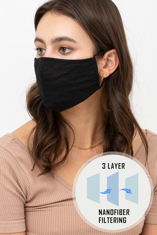 Adjustable Cotton Face Mask