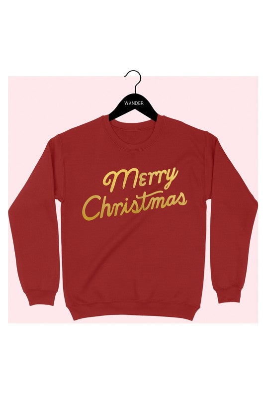 Merry Christmas Graphic Sweatshirt