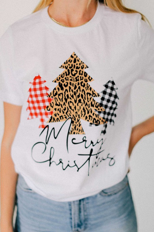 Merry Christmas Graphic Tee *PRE ORDER
