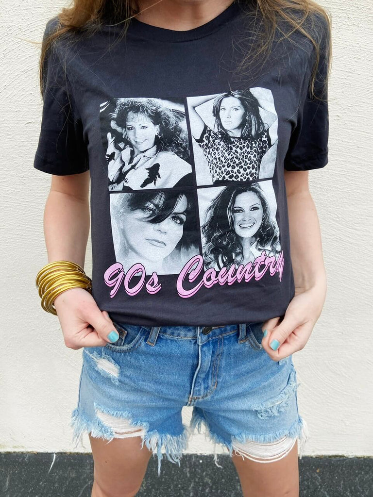 country graphic tee