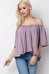 Classic Off The Shoulder Top