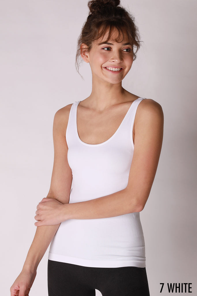 Basic Cami with Wide Straps