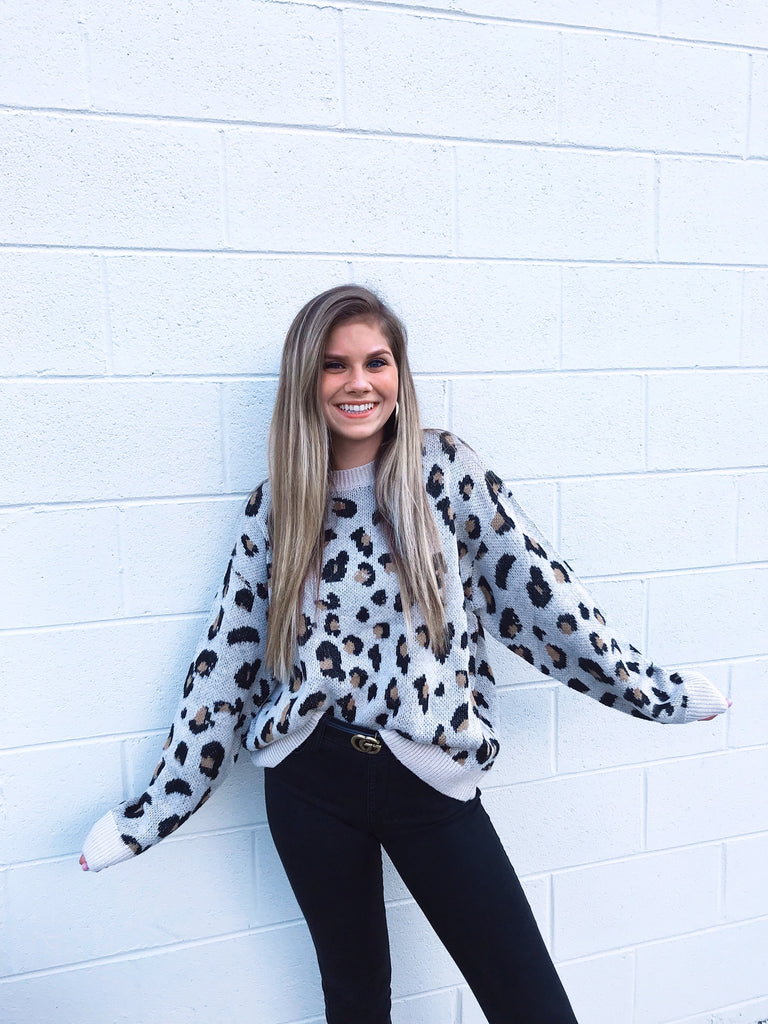 Milly Leopard Sweater