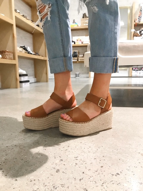Census Wedge Espadrille