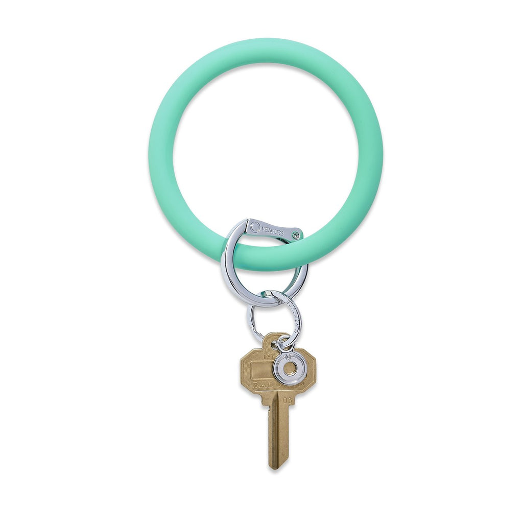 mint o ring keychain