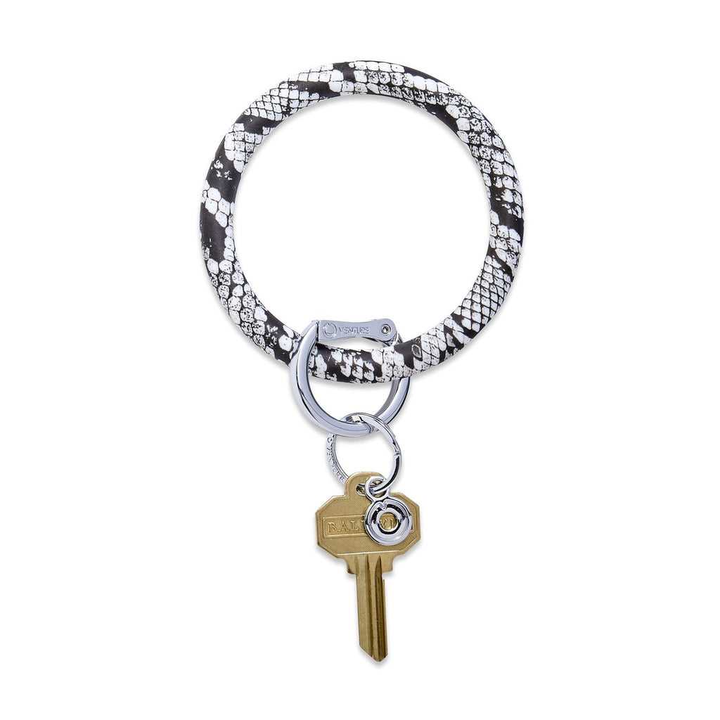 snake o ring key chain