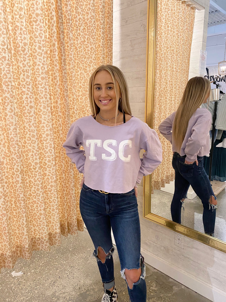 Cropped TSC Sweatshirt