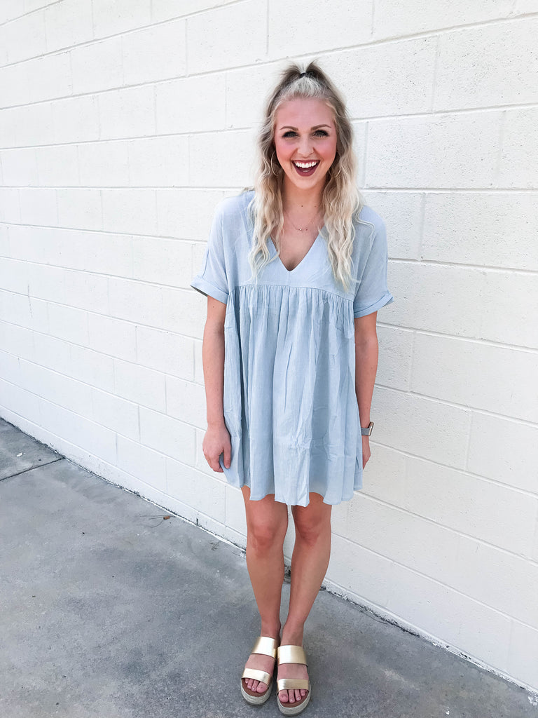 Babydoll Flowy Tunic Dress