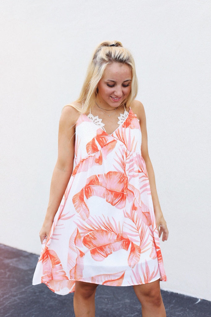 Palm Springs Babydoll Dress