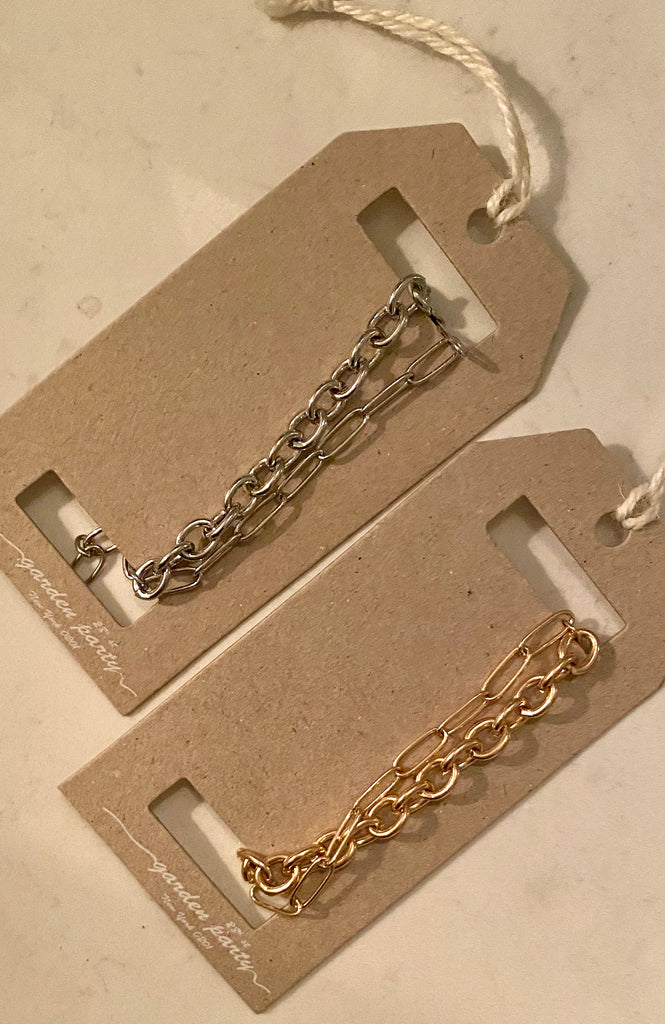 Layered Chain Link Bracelet