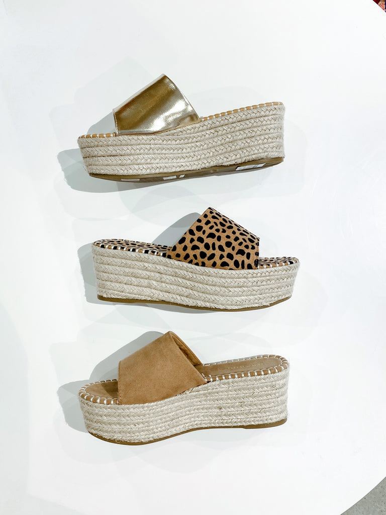 Wide Band Espadrille