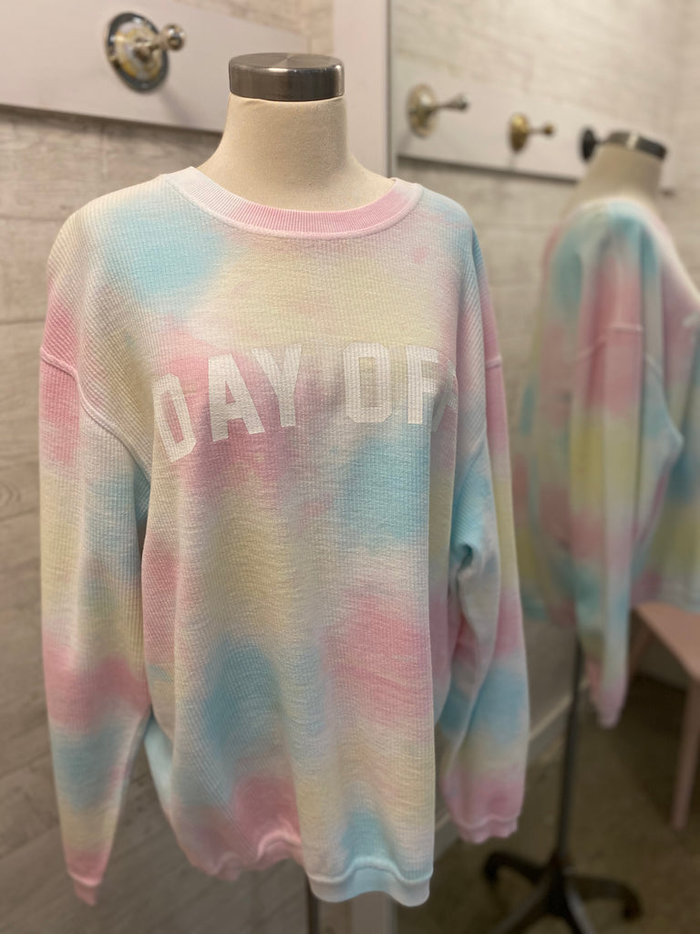 Day Off Corded Sweatshirt
