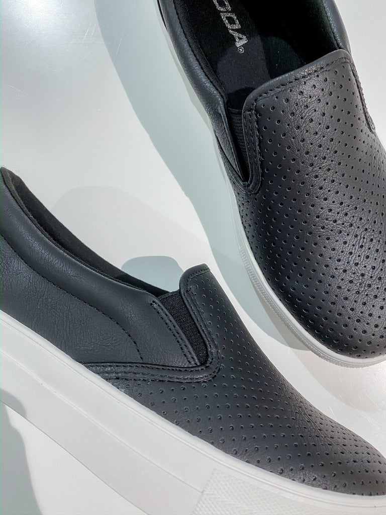 Croft Perforated Slip On