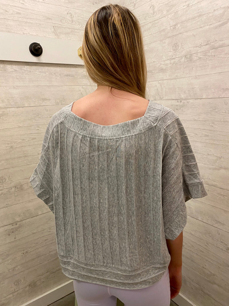 State of Grace Crop Blouse