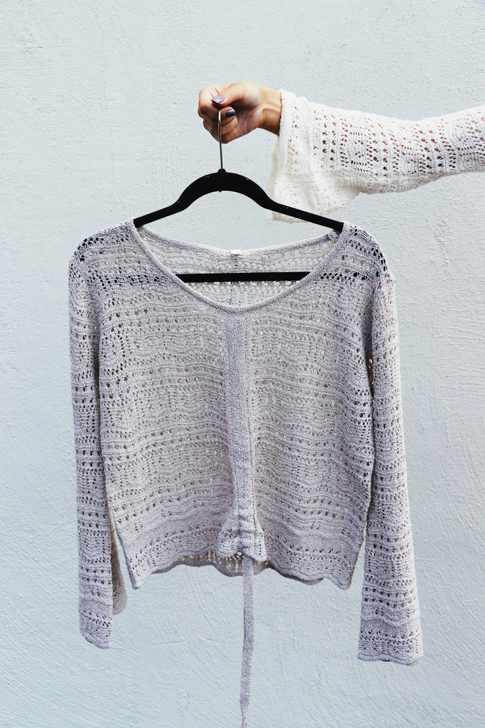Crochet Synched Sweater